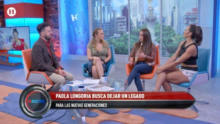 Paola Longoria recibió una invitación para portar la antorcha olímpica