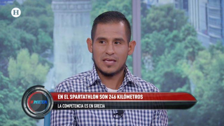 Ultramaratonista Alex Santiago consiguió terminar el Spartathlon 2019
