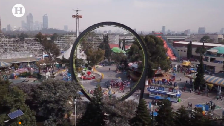 Estado en el que se encontraba el juego _La Quimera_; concluye caso Feria de Chapultepec