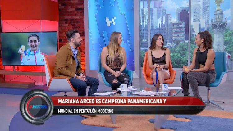 Mariana Arceo contenta de estar nominada al Premio Nacional del Deporte