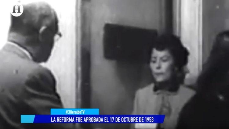 voto mujer 66 años El Heraldo TV