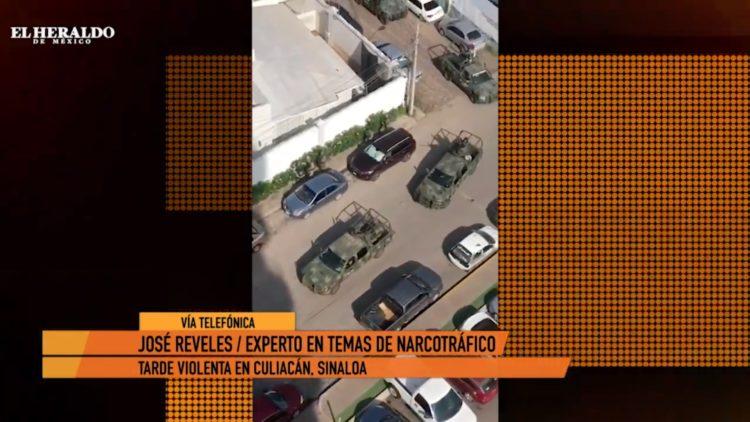 Muchedumbre de sicarios disparan contra Fiscalía para liberar a Ovidio Guzmán_ José Reveles