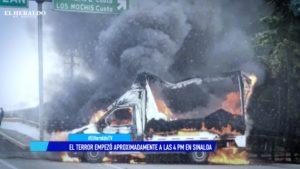 Intercambio de balas entre el ejército y el cártel de Sinaloa
