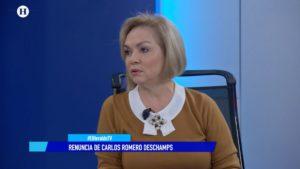 Cecilia Sánchez Morena Deschamps El Heraldo TV Noticias de la noche