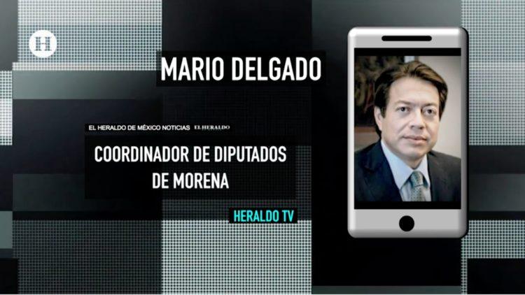 Mario Delgado coordinador de morena