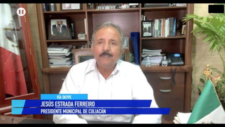 Jesús Estrada Ferreiro Culiacán Sinaloa El Heraldo TV Noticias de la noche