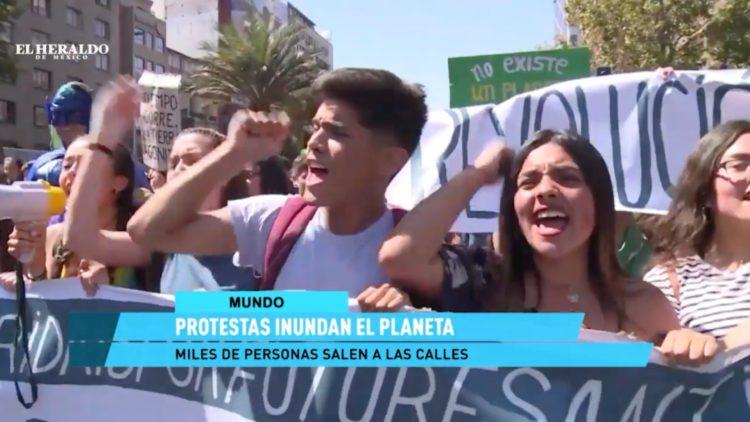 Protestas a nivel mundial