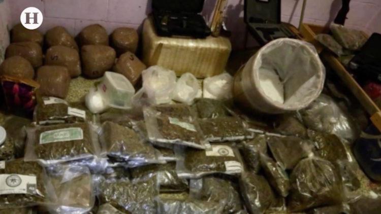 Drogas y armas que fueron confiscadas a Unión Tepito