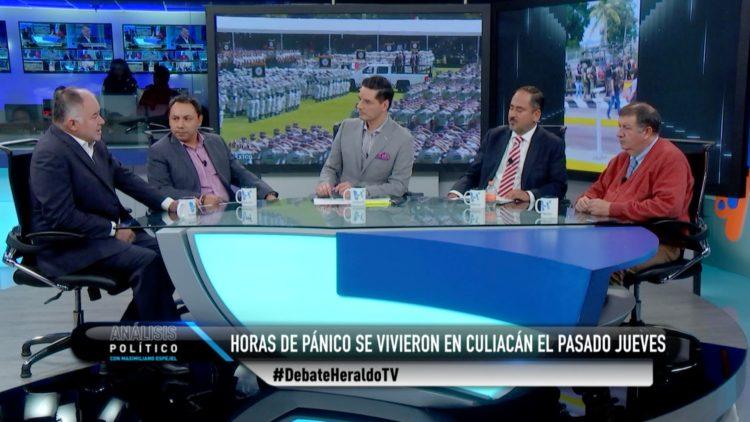 análisis político Maximiliano Espejel Culiacán Sinaloa El Heraldo TV