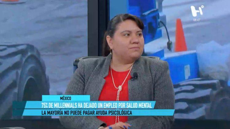 María Isabel Navarro Moncada, estrés laboral