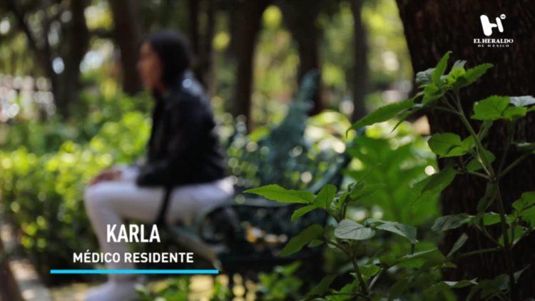 Karla, médico residente