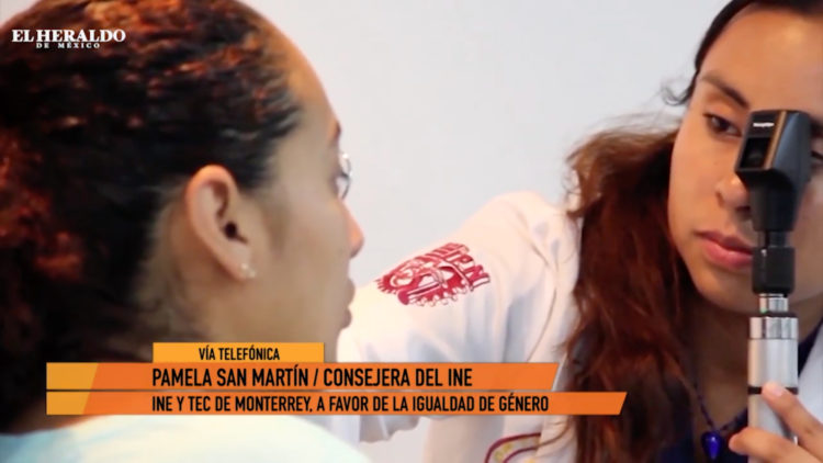 igualdad de género INE Tec de Monterrey_Pamela San Martín