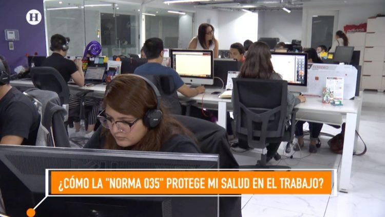 Norma 035 estrés laboral Coparmex Alicia Ruíz El Heraldo TV