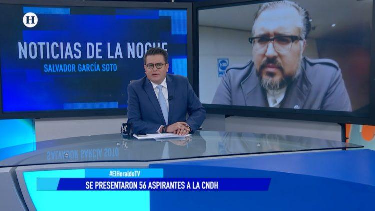 CNDH aspirantes doctor Arturo Peimbert El Heraldo TV