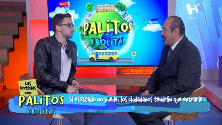 Carlos Allende en entrevista con
