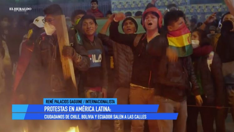 manifestaciones Bolivia Ecuador El Heraldo TV Noticias de la tarde