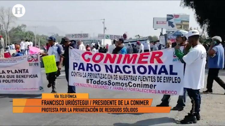 Razones por las que pepenadores bloquearon la autopista México-Pachuca