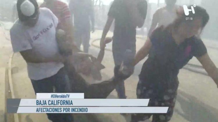 Incendios Baja California