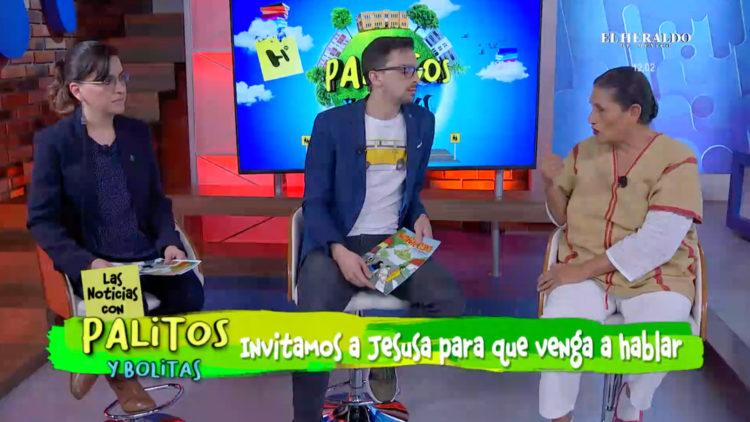 Carlos Allende en entrevista
