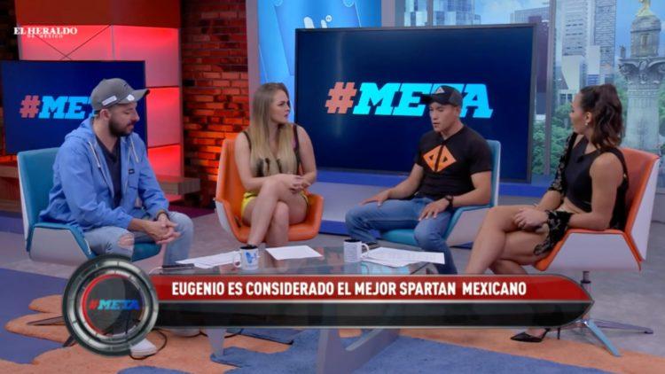 El mexicano Eugenio Godínez se prepara para el Trifecta Spartan 2019