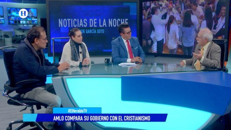 AMLO El Heraldo TV Noticias de la noche 4t