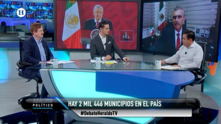 análisis Político Maximiliano Espejel El Heraldo TV alcaldes Palacio Nacional