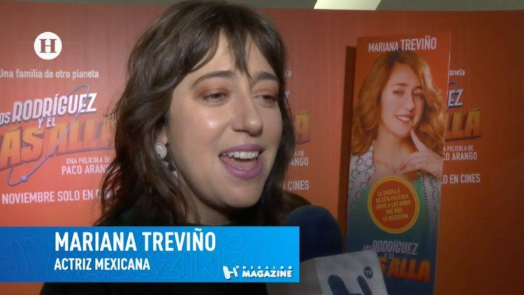 Mariana Treviño en Los Rodríguez y el Más Allá
