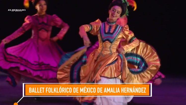 Ballet Folklórico de México de Amalia Hernández El Heraldo TV Bellas Artes Noticias México Mono Blanco
