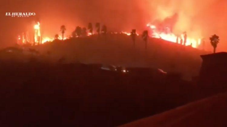 Incendio Baja California