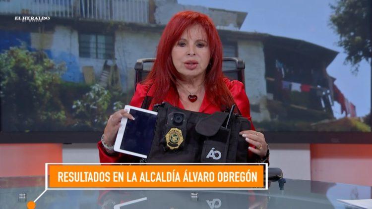 policías Álvaro Obregón equipo cámaras El Heraldo TV