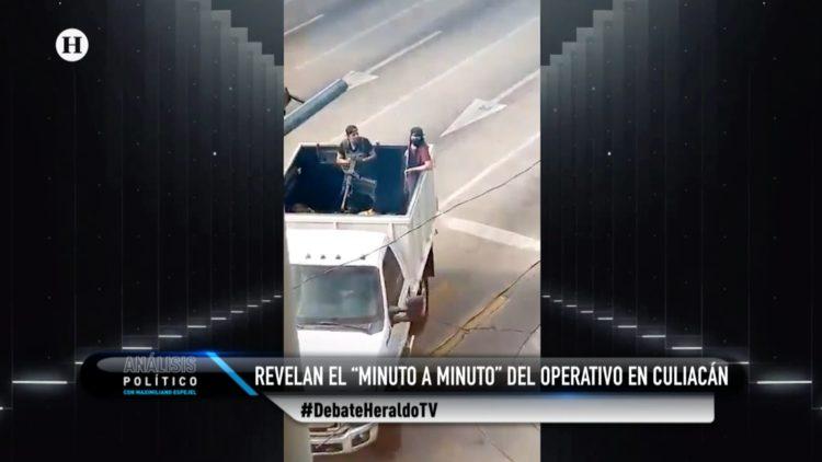 Culiacán Ovidido Guzmán El Heraldo TV Análisis Político
