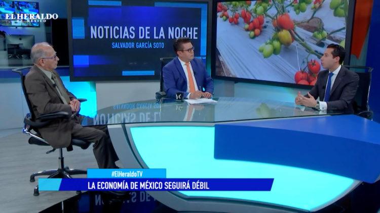 PIB en México crece 0.1% en tercer trimestre