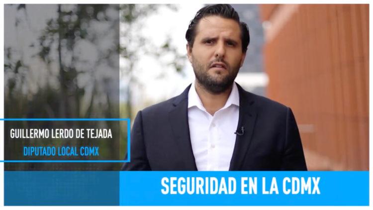Mejoras de seguridad en la CDMX Guillermo Lerdo de Tejada