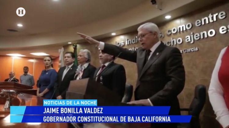 Jaime Bonilla Ley Bonilla El Heraldo TV Noticias de la noche Baja California