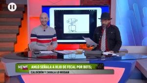 Memes en redes sociales por el señalamiento de AMLO a hijo de Felipe Calderón