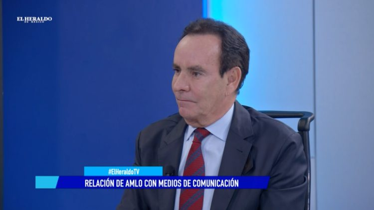 Carlos Salomón Andrés Manuel López Obrador El Heraldo TV Noticias de la noche medios de comunicación