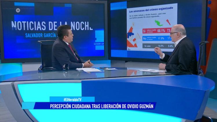 Percepción ciudadana tra liberación de Ovidio Guzmán a nivel nacional