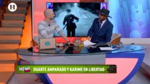 Memes reaccionan ante el amparo de Javier Duarte y la libertad de Karime Macías
