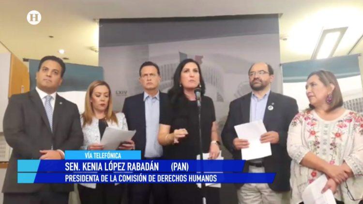 PAN CNDH Kenia López Rabadán El Heraldo TV Noticias de la noche