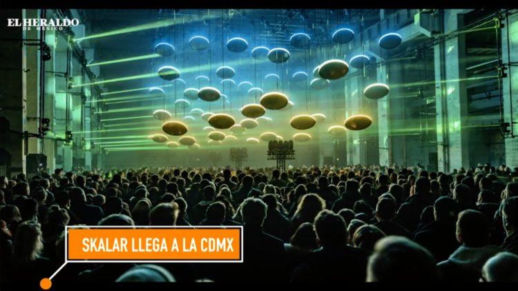 Skalar; espectáculo multisensorial de luces y sonidos en la CDMX