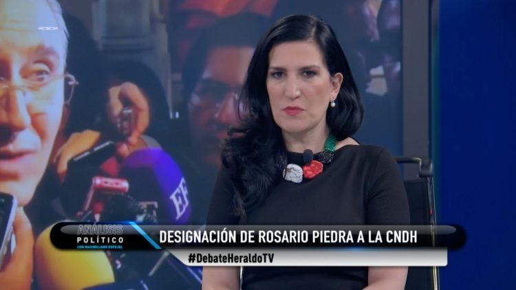 Senado de la República PAN CNDH Rosario Piedra Ibarra El Heraldo TV