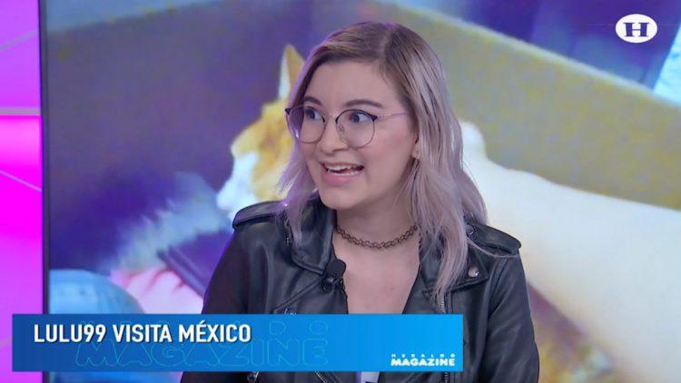 Lulu 99 está de visita en México y presentó su sencillo 'Soy Así'