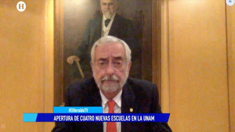 UNAM Enrique Graue rector El Heraldo TV Noticias de la noche