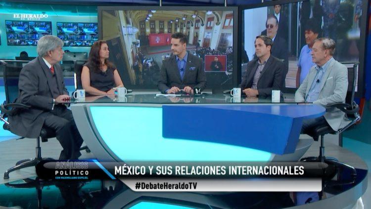 Evo Morales Familia LeBarón El Heraldo TV Análisis Político Maximiliano Espejel