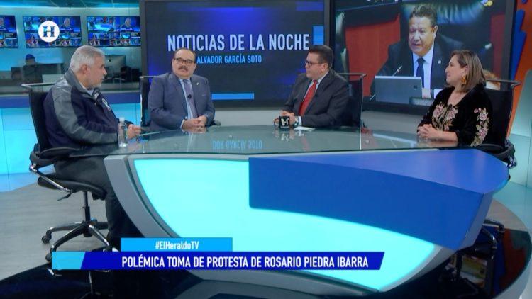 CNDH PRI PAN Morena Senadores El Heraldo TV Noticias de la noche