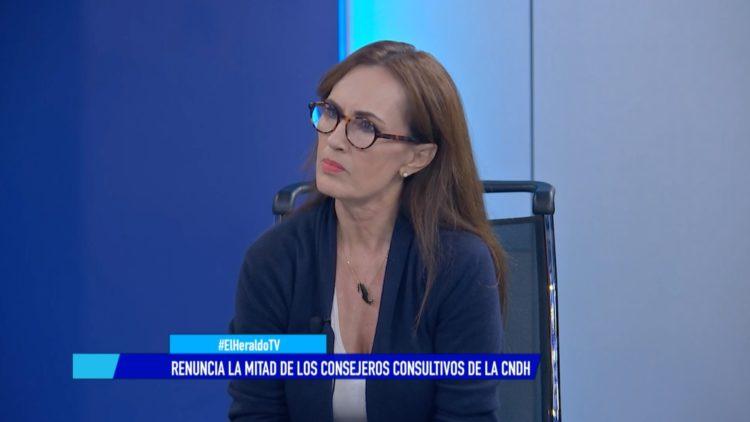 CNDH renuncia consejeros El Heraldo TV María Ampudia González