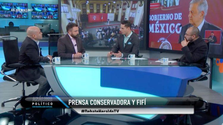 AMLO prensa Ovidio Guzmán El Heraldo TV