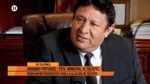 Armando Portuguez Tultepec Presupuesto El Heraldo TV Noticias México
