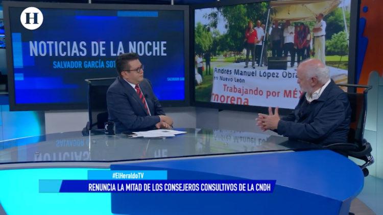 Alberto Athié retiró CNDH imposición Rosario Piedra Ibarra