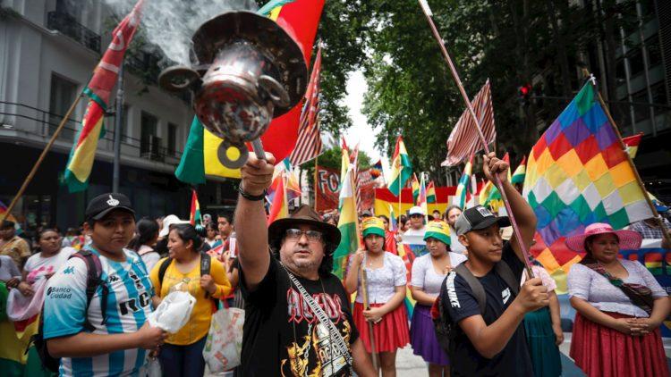 Protestas Bolivia Evo Morales